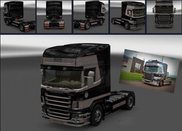 Scania R2008 Topline 50k black Meilink Blokker Skin