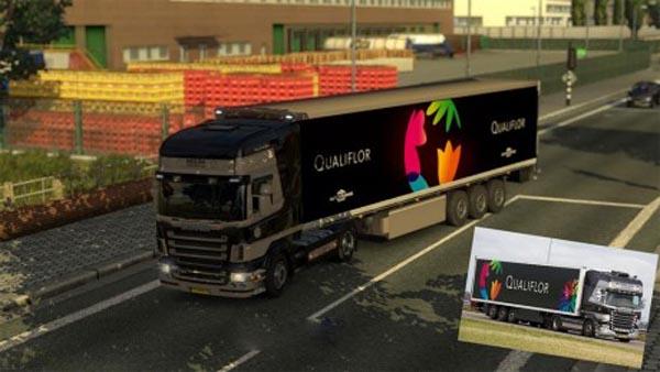 Scania R2008 Topline Qualiflor combo pack