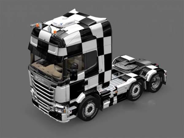 Scania Streamline Damier