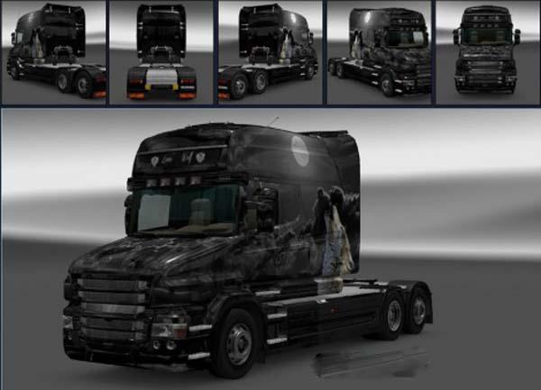 Scania T Lone Wolf Skin