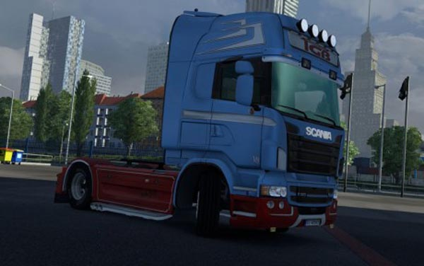 Scania Topline RJL TBG Skin
