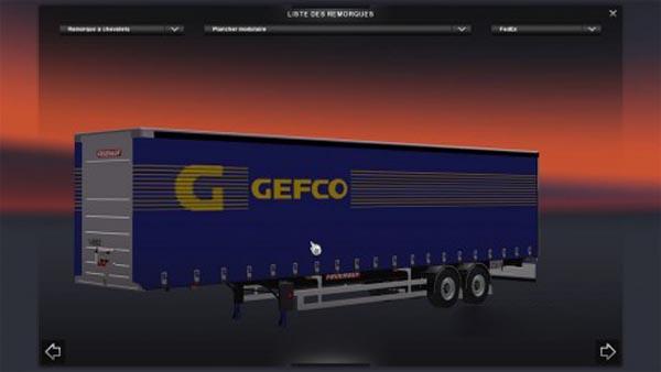Semitrailer GEFCO