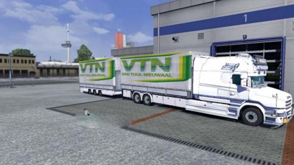 VTN tandem trailers