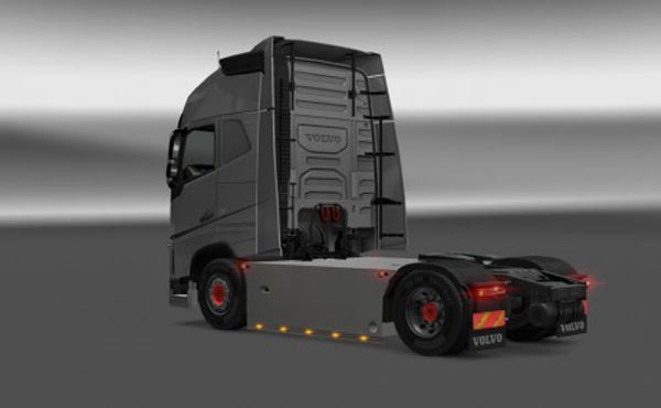 Volvo FH 2012 Sideskirts Version Final