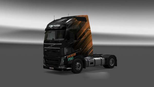 Volvo FH 2012 iNverted VBW Skin