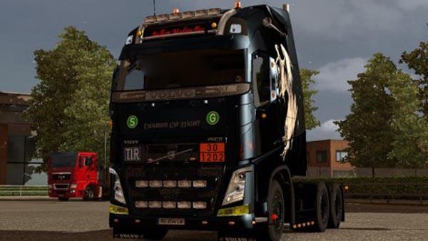 Volvo FH 2012 ohaha Deamon of Night Skin