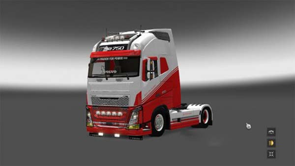 Volvo FH 2013 Eat My Dust skin