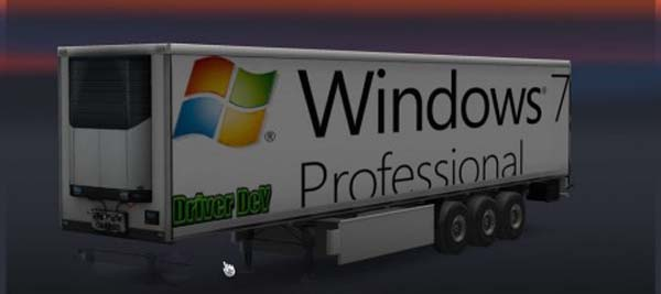 Windows 7 Trailer Skin