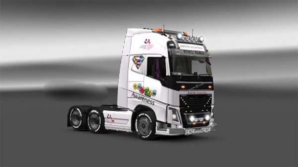 Autisim Awareness Volvo FH