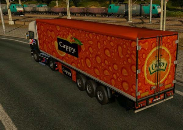 Cappy Orange Trailer