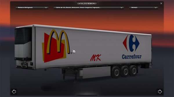 Carrefour trailer skin