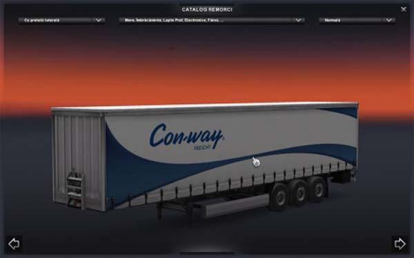 Con-Way profi_liner trailer