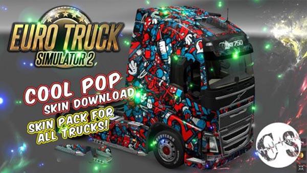 Cool Pop Skin Pack for All Trucks + Volvo Ohaha