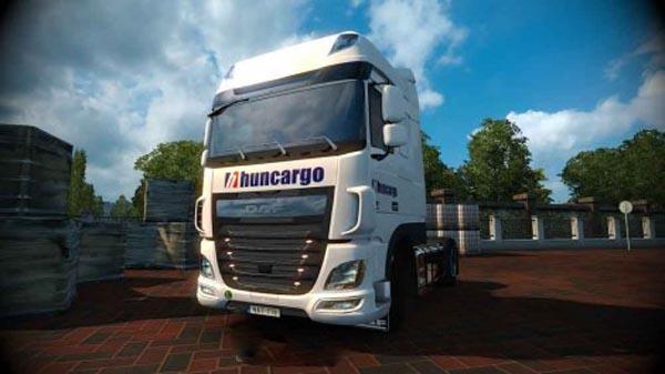 DAF XF Euro 6 Huncargo Skin