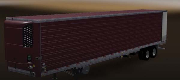 DC Black Cherry American Trailer Skin