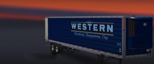 DC Western Amercian Trailer Skin