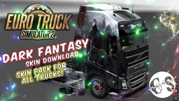 Dark Fantasy Skin Pack for All Trucks + Volvo Ohaha