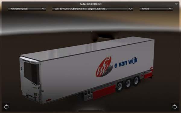 E-Van-Wijk Trailer
