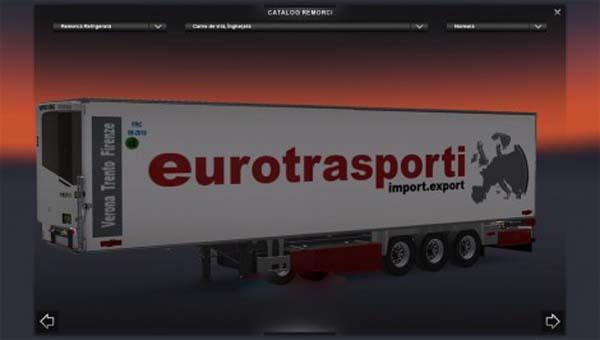 EuroTransporti  FlowerTrucks trailers