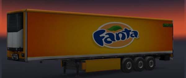 Fanta Trailer Skin