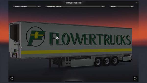FlowerTrucks trailer
