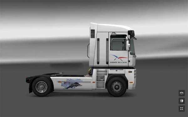 French Air Force for Renault Magnum