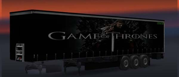 Game Of Thrones Trailer Skin