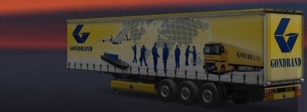 Gondrand Transport Trailer