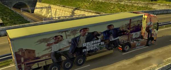 Grand Theft Auto V skin and trailer