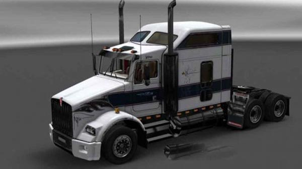 Kenworth T800 Klos Bros Trucking Skin