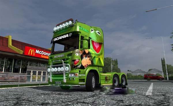 Kermit the Frog Scania R Skin