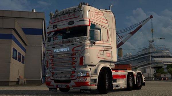 King of north Scania skin