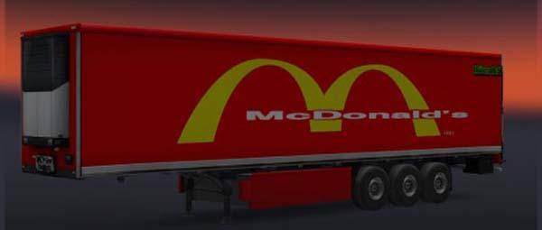 McDonalds Trailer Skin