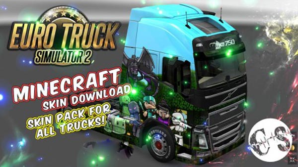 Minecraft Skin Pack for All Trucks + Volvo Ohaha