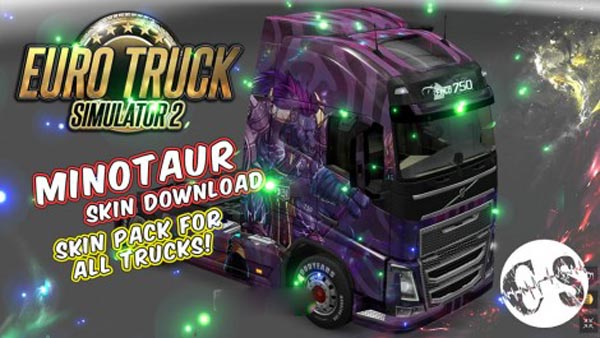 Minotaur Skin Pack for All Trucks + Volvo Ohaha