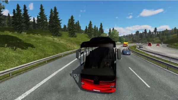 New Mercedes Benz Bus