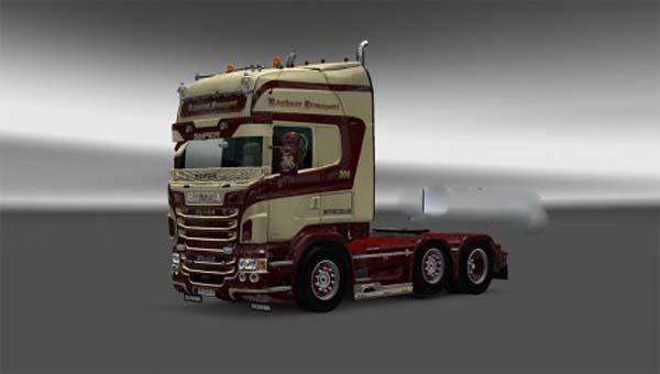 Ragnarok skin Scania RJL