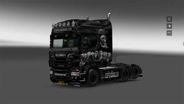 Scania Expensables Skin