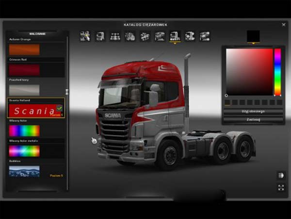 Scania Holland Style skin