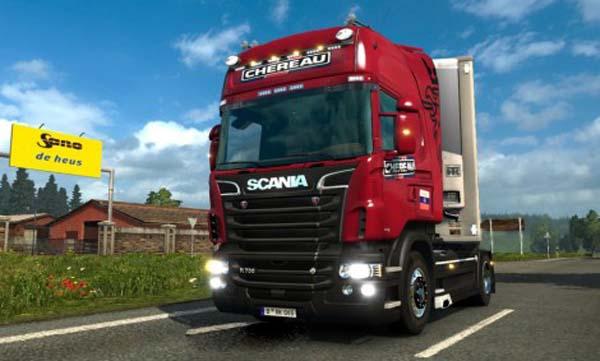Scania R Chereau Skin