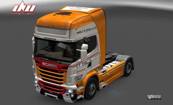 Scania R L. E. Jones LTD Skin