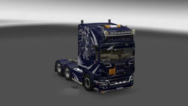 Scania R2008 Dragicevic Skin