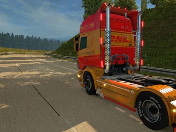 Scania RJL DHL Skin