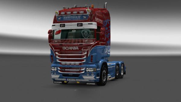 Scania RJL Hanstholm Skin