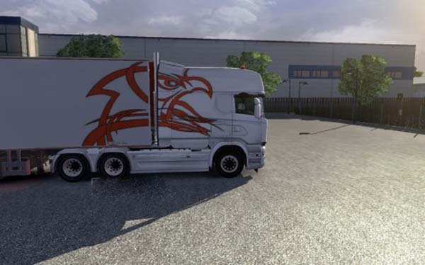 Scania Rjl Griffon Combo