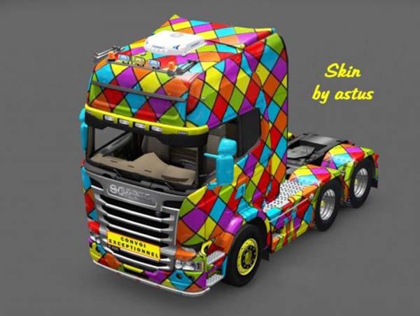 Scania Streamline Arlequin Skin