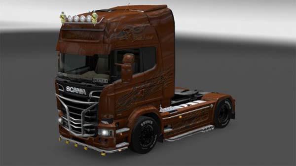 Scania Streamline Black Amber