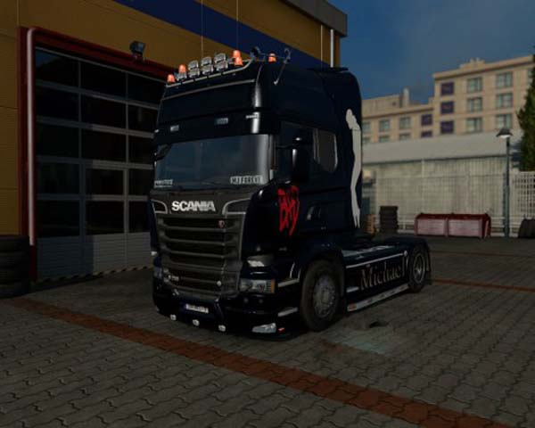 Scania Streamline Michael Jackson Skin