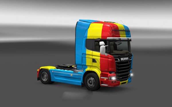 Scania Streamline Romania Skin