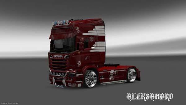 Scania Streamline Vaex Reek Holland Skin